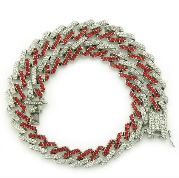Silver(Red Diamond) 18 inch