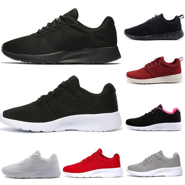 Großhandel Nike Air Rose Run One Großhandel Tanjun London 3.0 Schwarz Laufschuhe Weiß Rosa Grau Turnschuhe Männer Frauen Sport Läuft Schuhe Turnschuhe