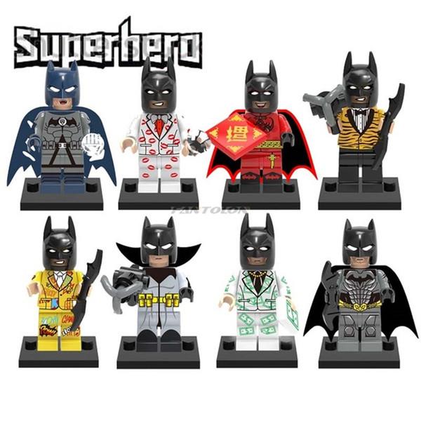batman building blocks Super Hero figurines kids juguetes with evening dress Injustice Chinese Batman Movie Figures Action Model For boys