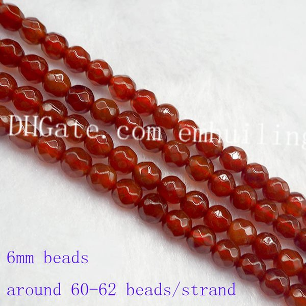 5 strands 6mm beads