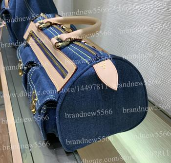Jeans handbag 32cm