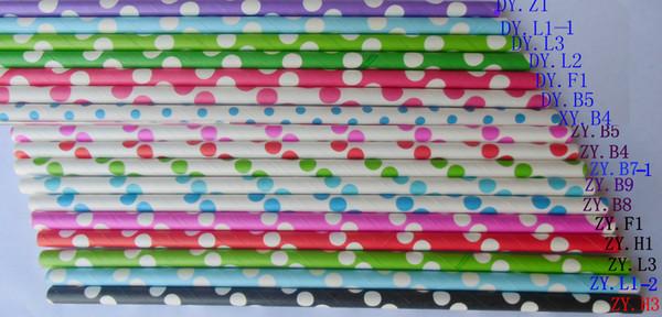 Colorful Paper Drinking Straws Birthday Wedding Decorative Party Event Hawaiian Holidays Luau Sticks KTV Supplies Creative Drinking Straws