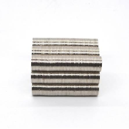 ZHANGYANG 50Pieces/Pack 10 mm x 1mm Magnetic Materials Neodymium Magnet Mini Small Round Disc Magnet Home Decorations Fridge N35 10*1mm