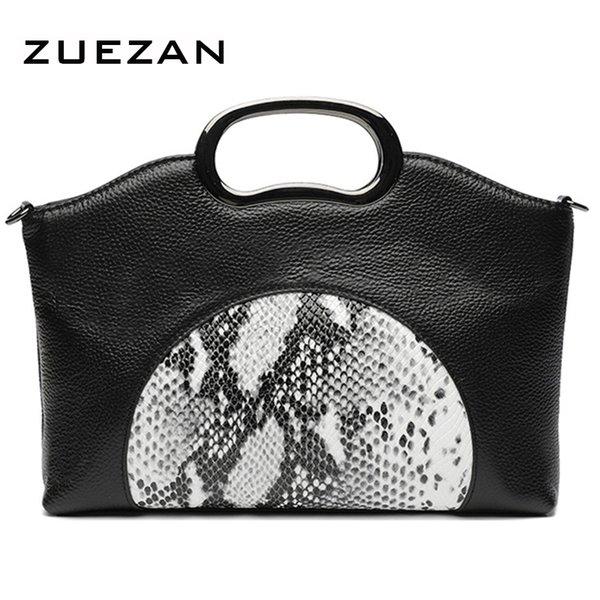 3 Styles, 28*23*7cm, 100% Natural Cow's skin, Fashion Handbag, Women Genuine Leather Shoulder bag, Lady Cross-body Tote, A001