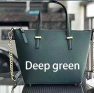 tiefe Grün