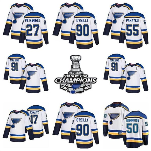 Champions patch St. Louis white