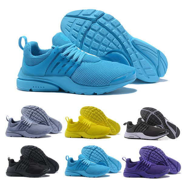 separation shoes 561b9 bb29a Best Quality Prestos 5 V Running Shoes Men Women 2018 Presto Ultra BR QS  Yellow Pink