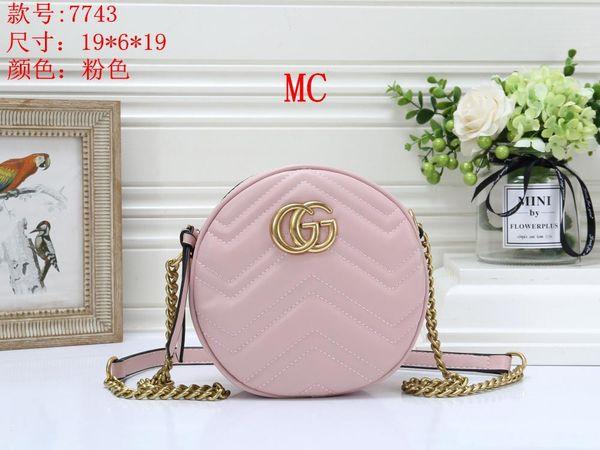 Women's Handbag Classic Small Series Of Fashion Hot Mom Lady Chain Bag Elegant Bulk Corrugated Woman Leather Shoulder Purse Handbags BagH159