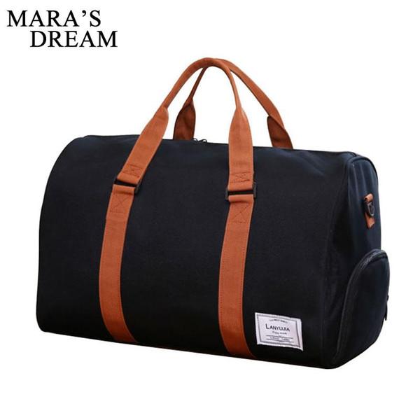Mara's Dream Unisex travel bag fashion can fold waterproof Men and Women Multifunction bag high quality casual Women storage