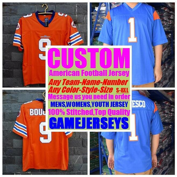 best selling 2019 Customized american Football Jerseys college cheap authentic salute service sports jersey stitched mens women youth kid 4xl 5xl 6xl 7xl