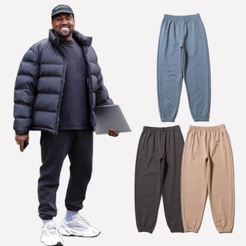 Kanye West Calabasas 6 Pantalones de Chándal Hombres Mujeres Cintura Elástica Pantalones de Chándal de Algodón La Mejor Calidad Pantalones Basculador Con Bolsillo Con Cremallera CPI0313
