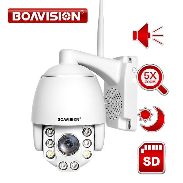 5X ZOOM Wireless PTZ IP Camera 1080P Two Way Audio Outdoor 8Pcs IR Leds Video Surveillance Cam Wifi Home Security Camera CamHi