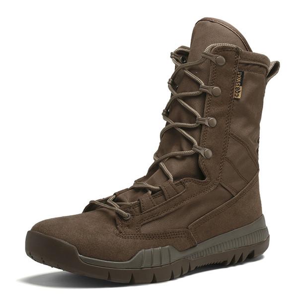 LenteHerfst Mannen Militaire Laars Zwart Ademend Licht Desert Schoenen Heren Combat Ankle Tactische Leger Laarzen HH 007 Leather Boots For Women