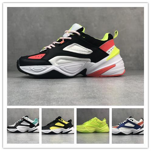 Üst qualtiy Monarch M2K Tekno Baba iyi erkek kadın Ayakkabı Monarch 4 Tasarımcı Zapatillas Chaussures Homme Koşu Ayakkabıları spor Sneakers