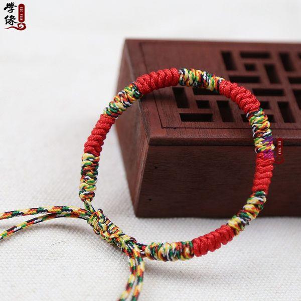 Braccialetto di amicizia del filo sottile della corda intrecciata intrecciata tessuta corda variopinta del braccialetto del Brasile della Boemia