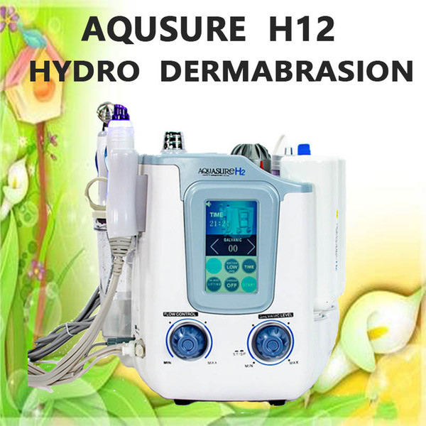 DHL Fast Shipping 3 in1 Hydrogen Hydra SPA facial microcurrent Galvanic aqual skin peeling hydra facial spa beauty equipment