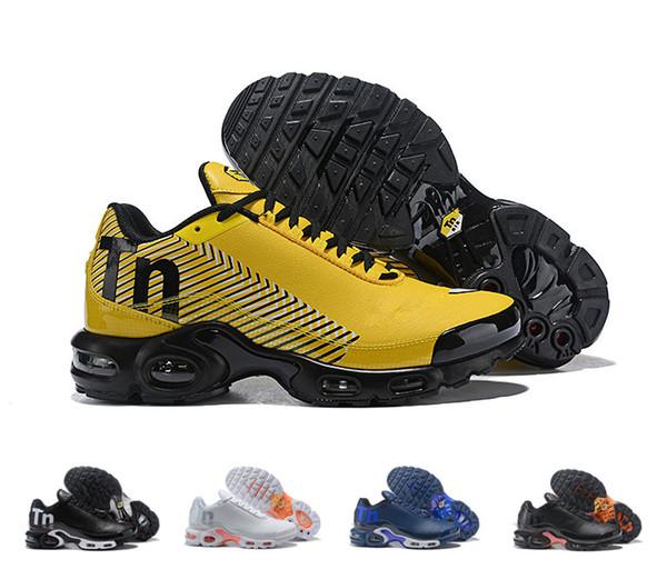 2018 Venda Quente Mercurial Plus TN 2 Ultra Pura Sapatilha Sapatos  Formadores dos homens de Alta d866f690797ad