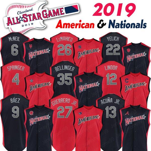 Матч всех звезд 2019 года Пит Алонсо Джерси Американская национальная лига Фриман