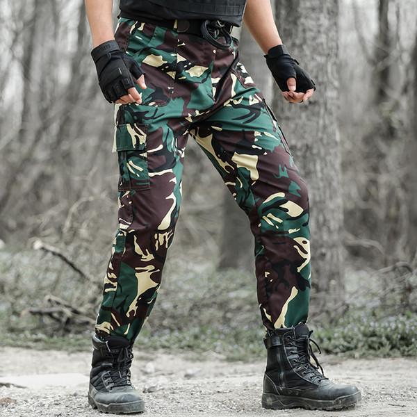 Pantaloni Protettivi Airsoft Jeans Gamba corta Camo Militare