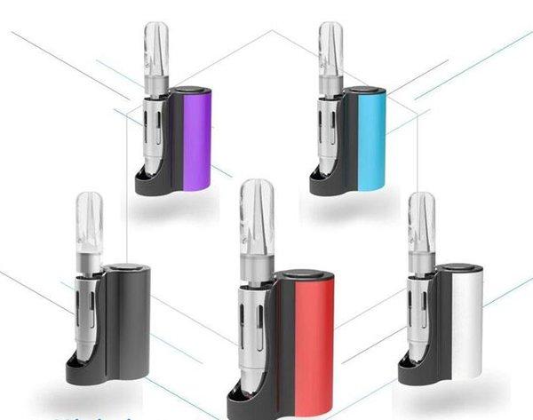 mini pipe box mod vape e cigarette 510 thread cartridges vaping mod variable voltage smoking with preheat function huge capacity brand new