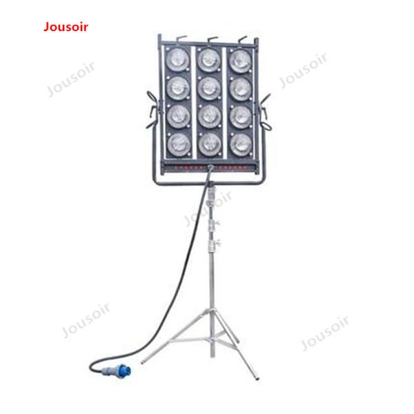12 lámpara de cine y televisión Campo audiencia lámpara 1000w * 12 un ángulo de luz de tungsteno CD50 ajustable T03