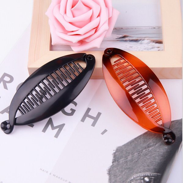 1 PC Fish Shape Hair Claw Clips Hair Jewelry Banana Barrettes Hairpins Accessories For Women Clips Clamp Styling Tools