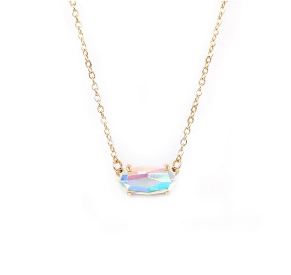 9Gold AB necklace