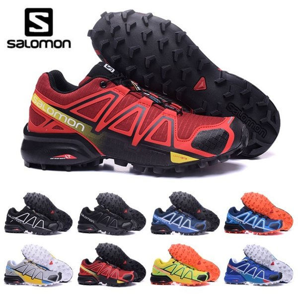 2020 Salomon Speed Cross 3 4 Les hommes CS chaussures de course triple hommes bleu noir rouge trainer baskets de sport de sport randonnée jogging en plein air