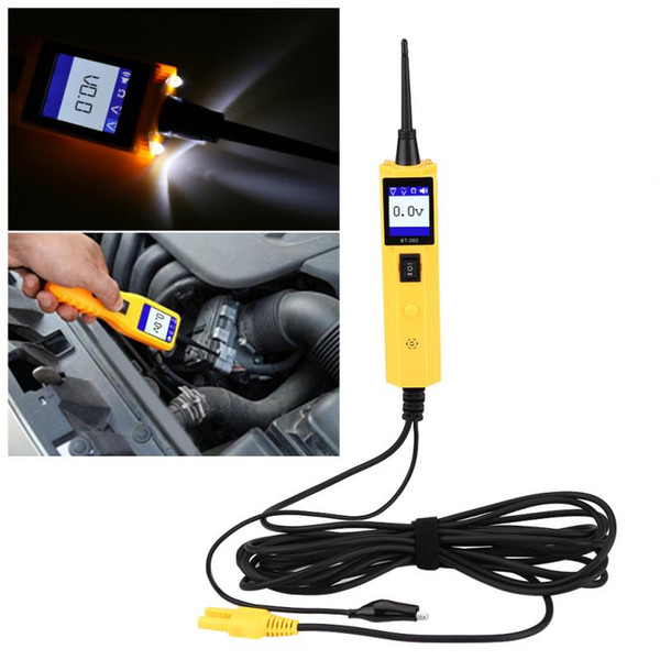 New Car Automotive Circuit Tester Electrical System Diagnostic Tool Power Probe Voltage Test Electrical Testers Car Accessories