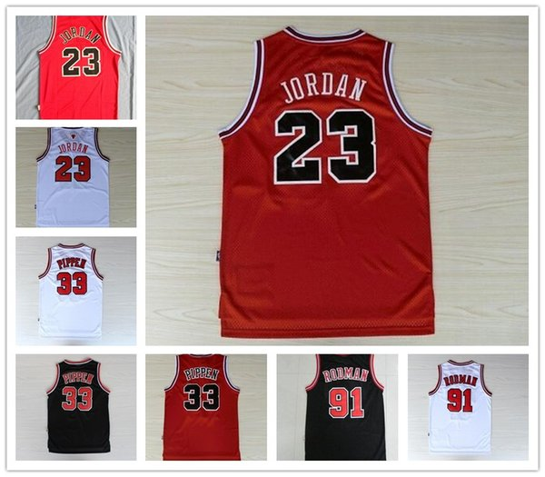 the latest 376ea 449cb 2019 Men'S #23 45 Michael Jerseys 33 Scottie Pippen 91 Dennis Rodman Zach  LaVine Bulls Jerseys Embroidery Stitched Jerseys From Mimishops, $20.31 |  ...