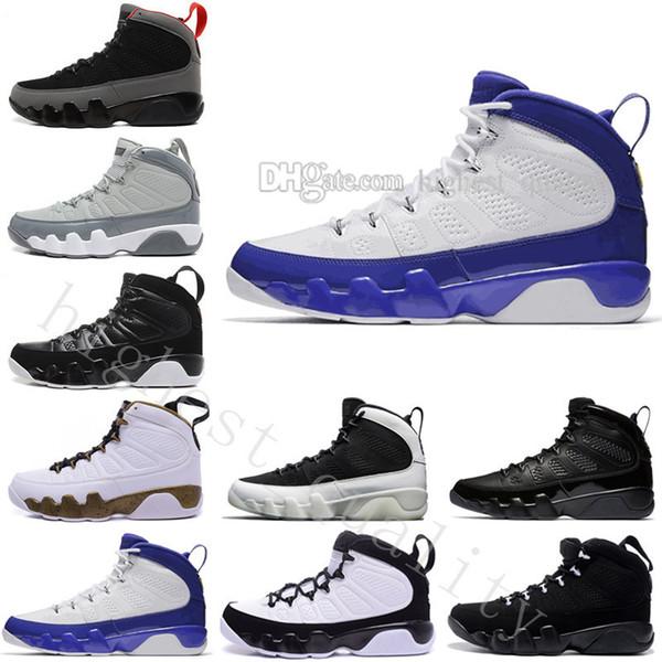 Qualité Haute 9 Ix Basket Chaussures Mans Sport Chaussures Barons L'esprit Doernbecher Cool Gris Chaussures De Basket-ball Pour Hommes Taille Eur 40-47