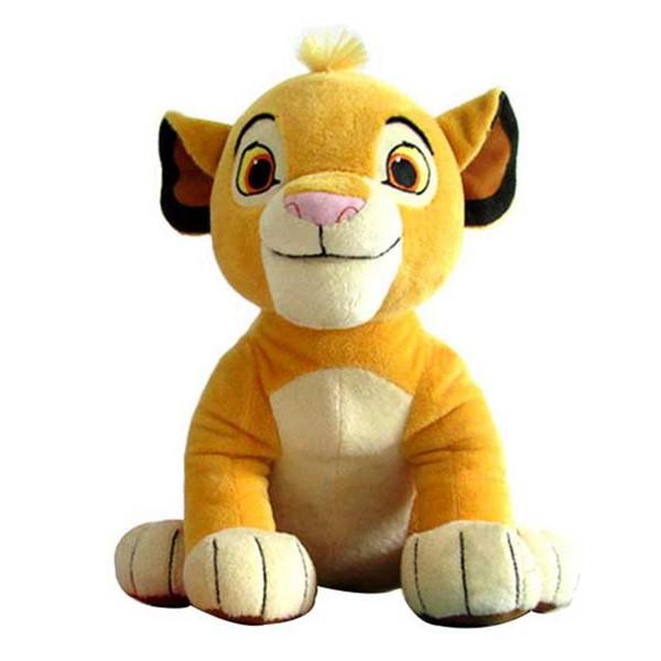 Young Lion giocattoli peluche kawaii Morbidi peluche animali di peluche Bambola giocattolo divertente per matrimonio Compleanno Decorazioni natalizie