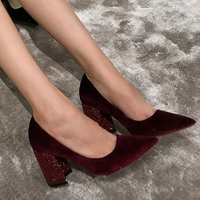 B 8cm heel