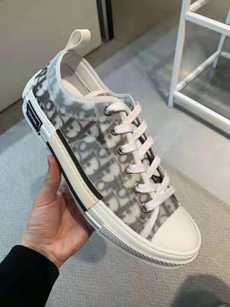 Tendencia 2019 nuevas letras de las estrellas de los zapatos de los hombres zapatos de las mujeres de la marca informal alta para ayudar Low help clásico skate zapatos de lona 36-45