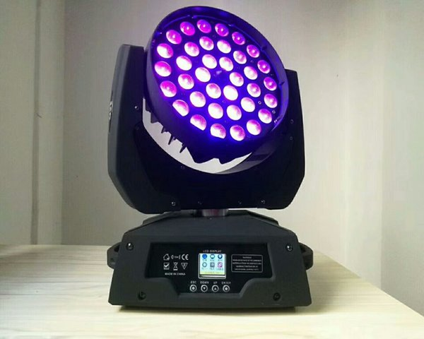 LED Stage Lights 36*12W Computer Moving Head Light Focusing DyeingWith Circle Co PAR Lights LED Stage Color Mixing Lightsled dmx moving head
