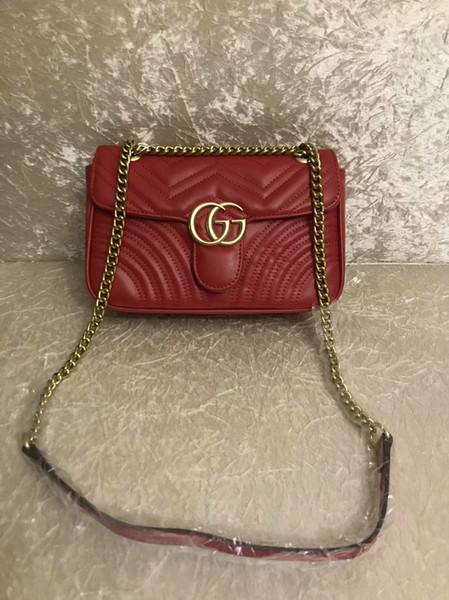 2019new дизайнерская сумка, змеиная кожа с тиснением мода дамы цепи мешок, сумка-мессенджер бренд дизайнер Посланник bag118