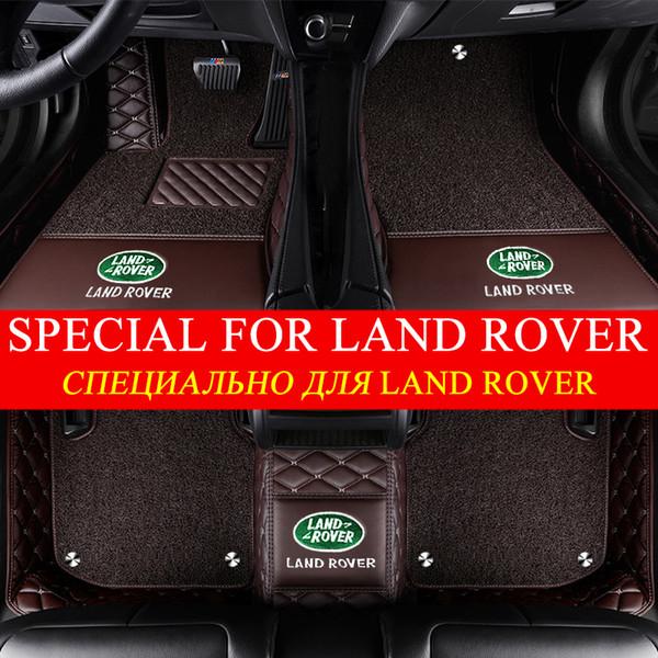 best selling 5D Fashion Design Luxury Surround Custom Car Floor Mats for Land Rover Defender Discovery Freelander Range Rover Evoque Sport LR2 LR3 LR4