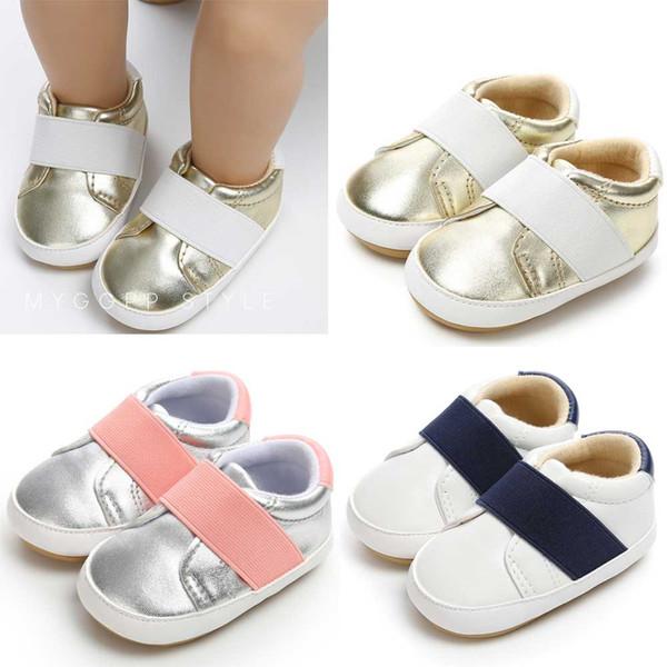 Детская Кожаная Обувь 2019 Мода Малыша Младенцев Обувь Малыша Первые Ходунки