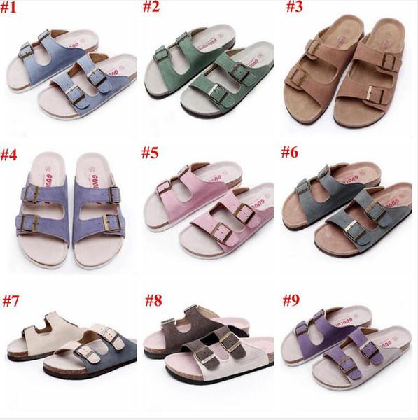 Cork Sandals Unisex Beach Flip-flops Summer Sandles Fashion Antiskid Slippers Suede Home Shoes Slippers Casual Cool Slippers Sandalias C5916