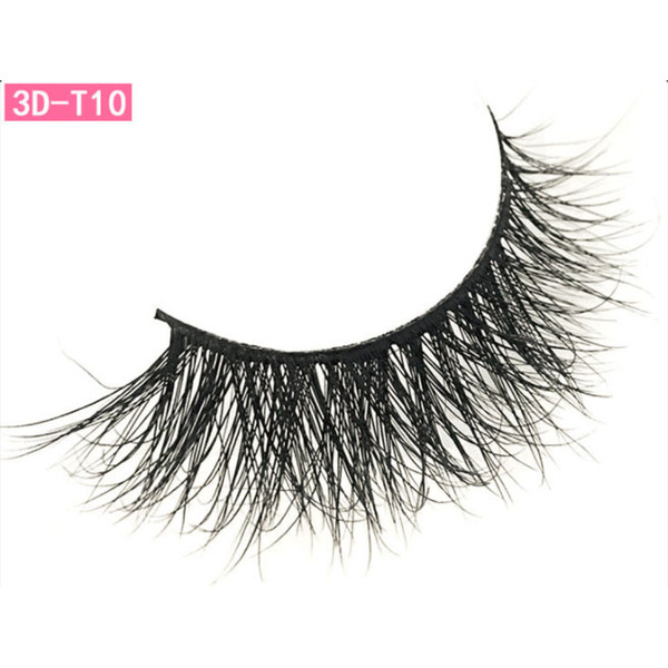 a3834df1940 Lash Mink Eyelashes 3D Mink Lashes Wholesale 100% Real Mink Fur Handmade  Crossing Lashes Thick