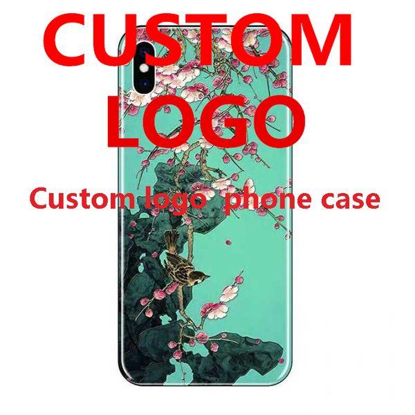 Diy foto personalizar phone case capa personalizado phone case diy para 7 8 p x xr max sansung navio livre