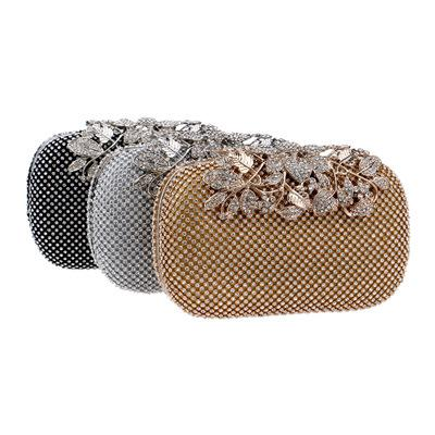 best selling 2019 Manufacturers directly sell Ying Power's cross-border explosive banquet bags for high-end diamond banquets evening bag in hand