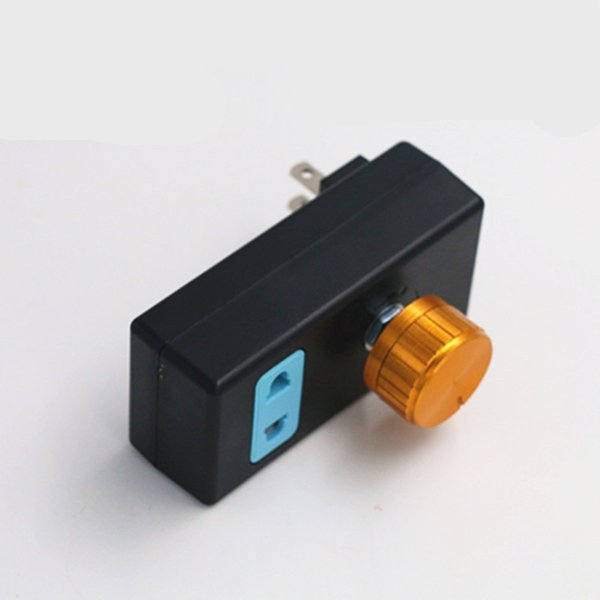 Single-phase 220 V Ac Motor Speed Fan Speed Control Switch Thermal Controller Transformer That Move Light Socket