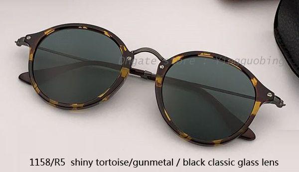 1158/R5 shiny tortoise gunmetal/ black
