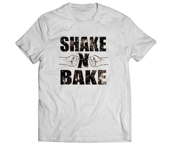 ffd048db Shake and Bake Talladega Nights Funny Movie Mens White Tee T-Shirt  CottonFunny free shipping