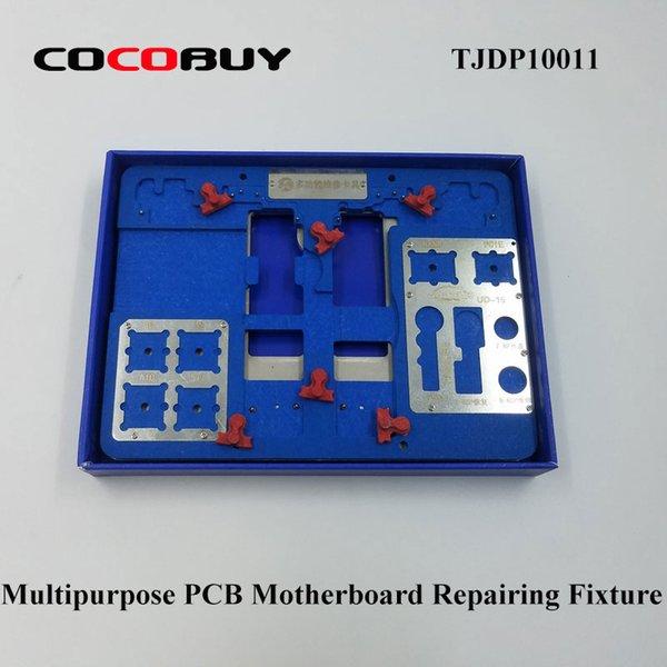 Multipurpose Precision PCB Titular Reparo De Solda Luminária Telescópio Motherboard Plataforma de Reparo Do Telefone Ferramentas de Ferramentas Conjuntos TJDP10011