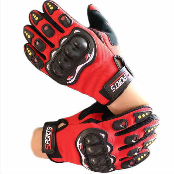 2019 summer new mesh TECHNOLOGY riding glove motorcycle/motorbike/Moto racing gloves have colors Uniform code