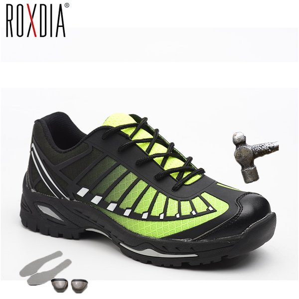 ROXDIA brand plus size 39-46 steel toecap women men work & safety boots steel mid sole man safety shoes Construction site RXM104