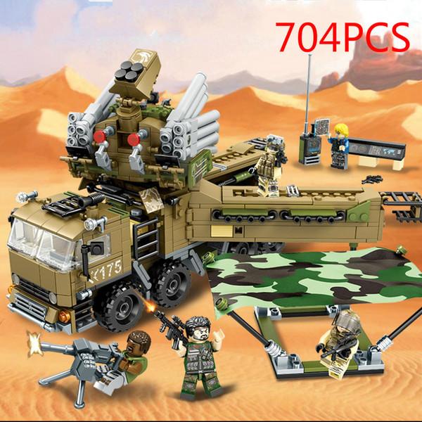 Black Gold Plan - Armor 51 Mobile Defense Headquarters Children's Building Block Toys building blocks for kids