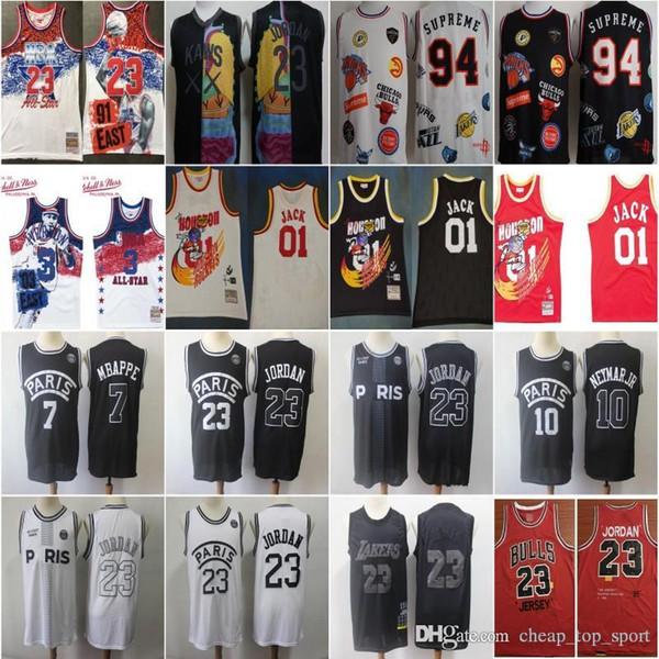new arrival f224d 7096e 2019 2019 MVP JAMES PSG 23 Michael 10 NEYMAY JR 7 MBAPPE Paris 18ss Sup 94  KAWS XX TRAVIS SCOTT Houston 01 Jack ROCKETS 1985 Basketball Jerseys From  ...